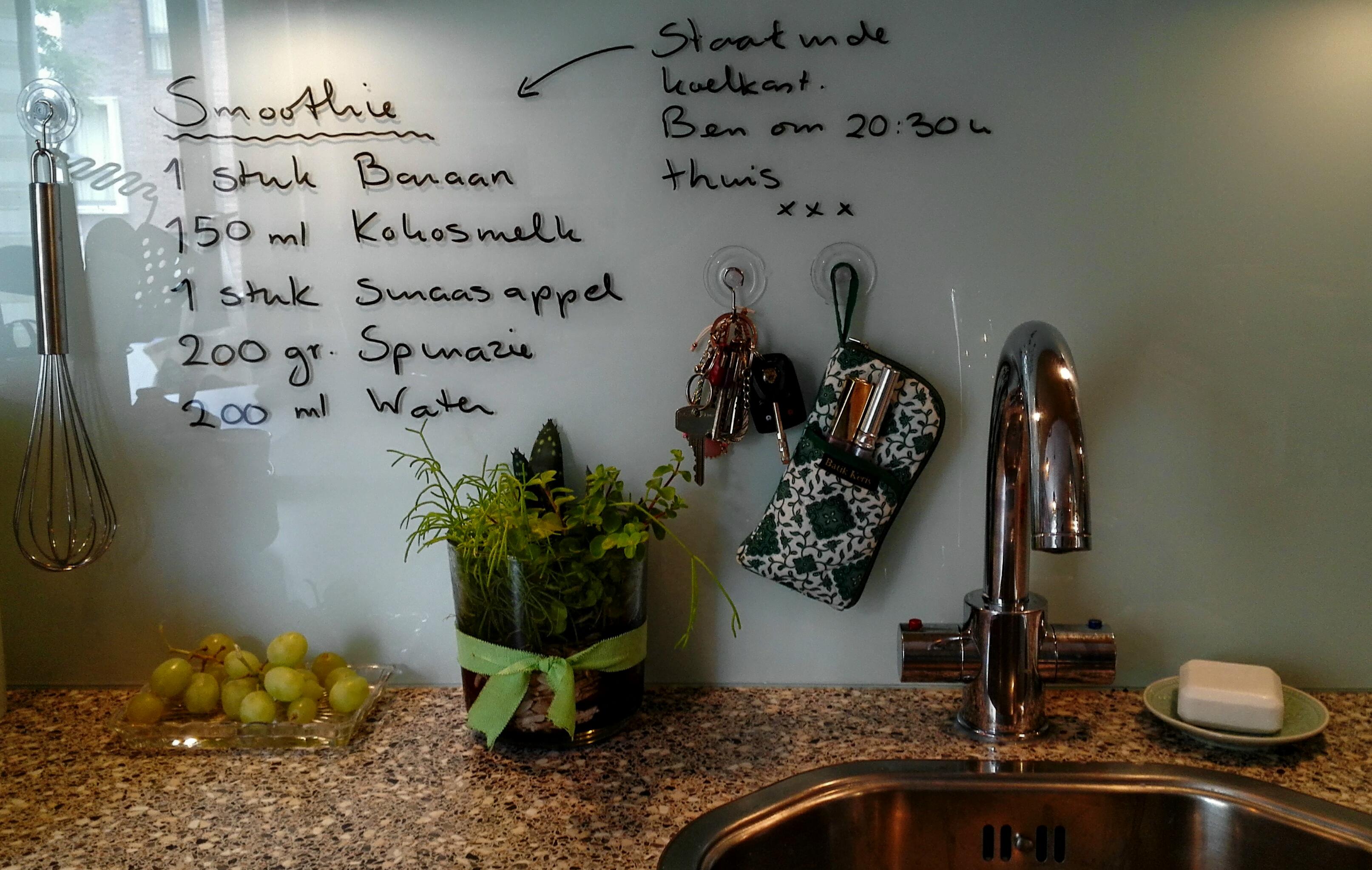 Glasplaat Keuken Schoonmaken : Keukenachterwanden ? Glashandel Ariba Den Haag 070 3465127