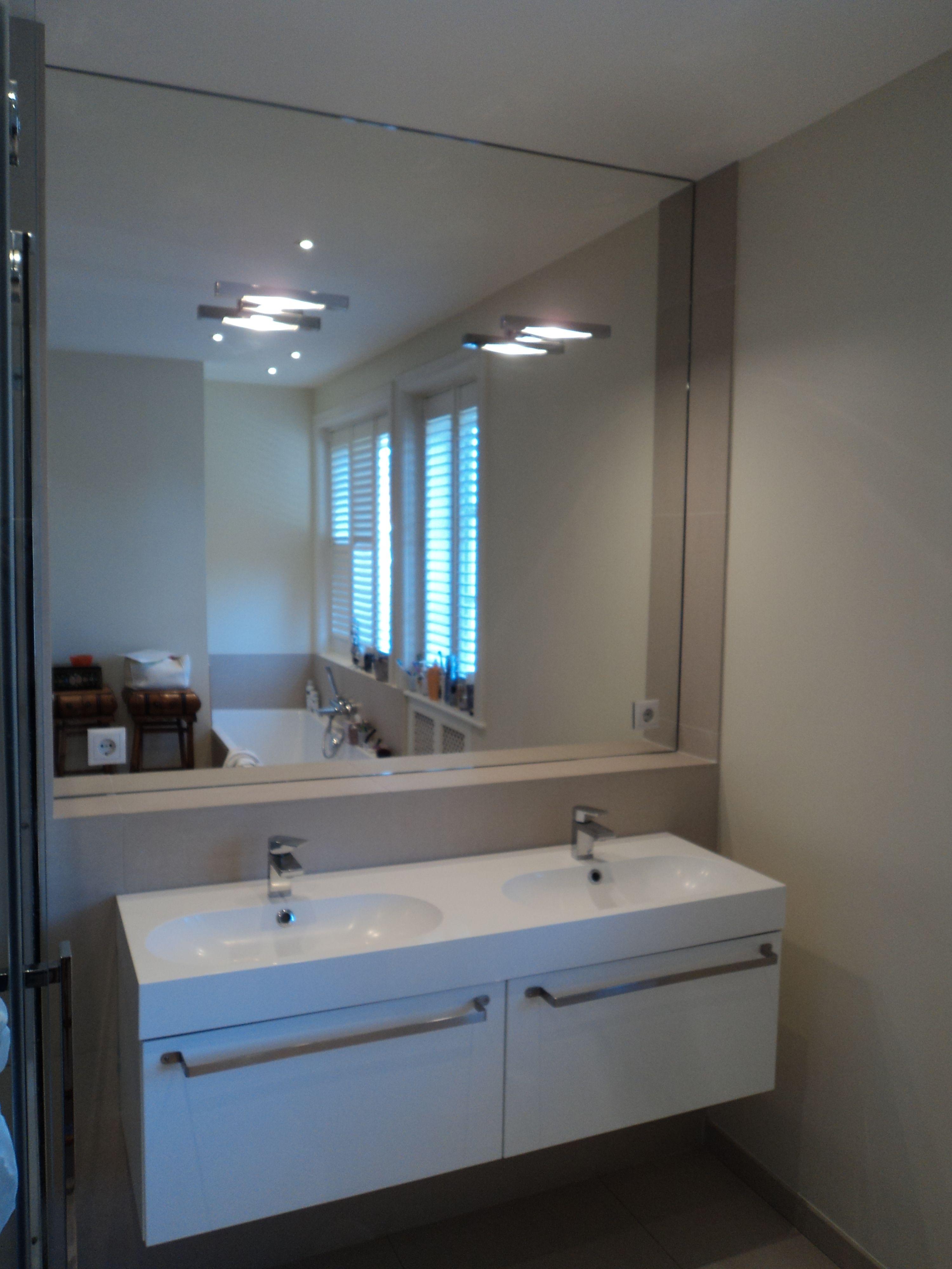 Glashandel ariba den haag voor spiegels op maat for Spiegel badkamer verlichting